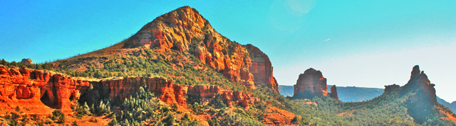 Red Rocks from Soldier Pass - Sedona, Arizona